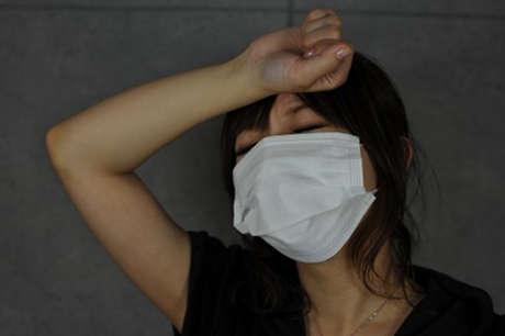 突然の高熱