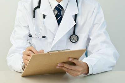 医師の早めの診断