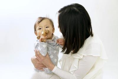 母乳育児をすすめます!